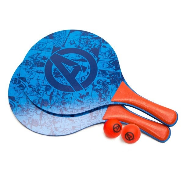 Avengers Beach Paddle Ball Set (2 Paddle/ 2 Balls)