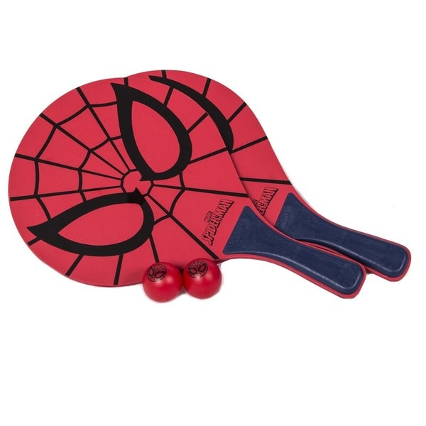 Spider-Man Beach Paddle Ball Set (2 Paddle/ 2 Balls)