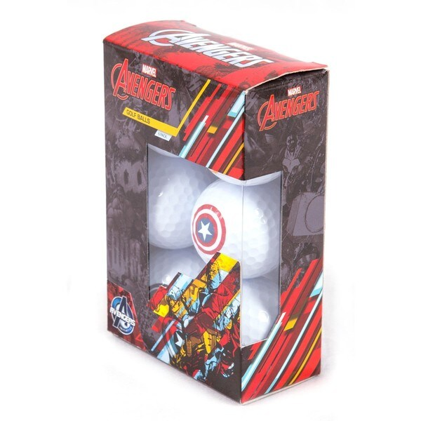 Avengers Golf Balls Individual (Mixed Sleeve 6 balls)