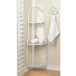 Decorative Lacy 3-Tier Corner Rack