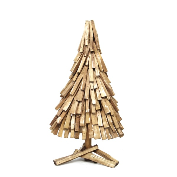 Lodge Collection 30-inch Tabletop Cone Tree (Pack of 2)