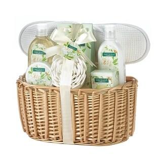 Spa Bath and Body White Gardenia Scent Gift Basket