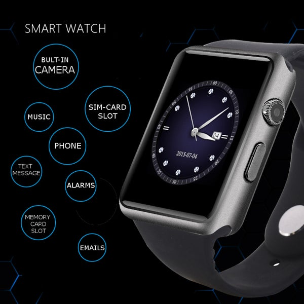 iPanda Smartwatch 3 For All IOS & Android Devices - Bluetooth or Sim Card