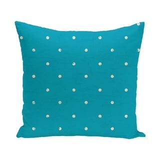 Dorothy Dot Geometric Print 18-inch Outdoor Pillow