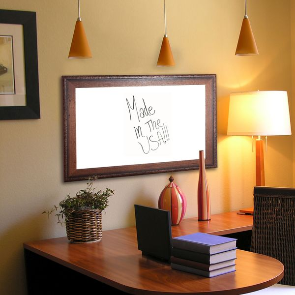 American Made Rayne Timber Estate Dry Erase Board