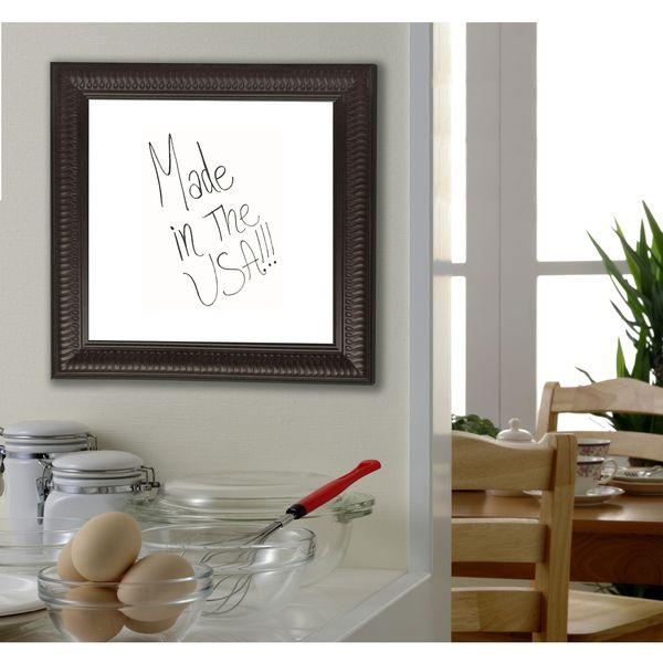 American Made Rayne Royal Curve Dry Erase Board
