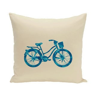 Life Cycle Geometric Print 18-inch Outdoor Pillow
