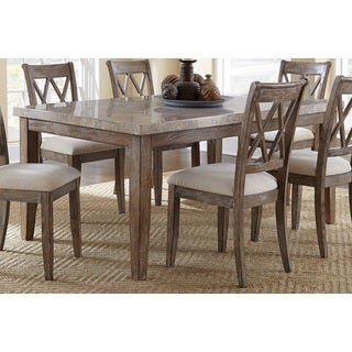 Greyson Living Fulham Marble Top 70 Inch Dining Table