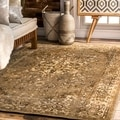 nuLOOM Traditional Vintage Inspired Overdyed Fancy Natural Rug (9' x 12')