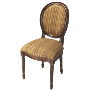 Butler Cherry Striped Side Chair