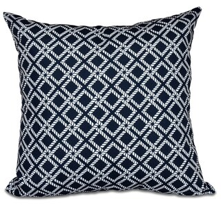 Rope Rigging 16-inch Geometric Print Pillow