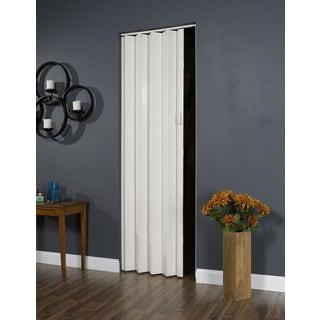 Oakmont White Folding Door