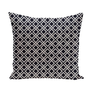 Rope Rigging 20-inch Geometric Print Outdoor Pillow