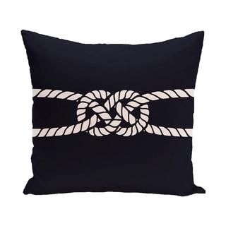 Carrick Bend 20-inch Geometric Print Outdoor Pillow