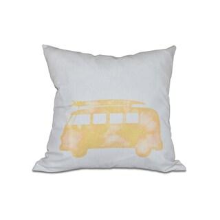 BeachDrive 20-inch Geometric Print Pillow