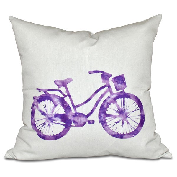 Life Cycle Geometric Print 20-inch Pillow