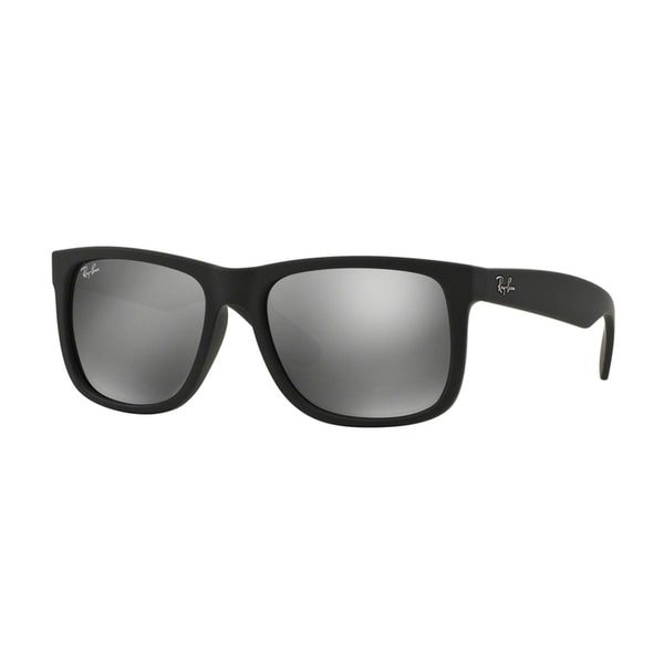 Ray Ban Unisex RB 4165 Justin Black Rubber Sunglasses 16689979