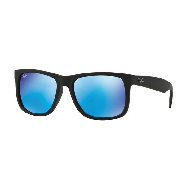 Ray Ban Unisex RB 4165 Justin Black Rubber Sunglasses (As Is Item) 20566886