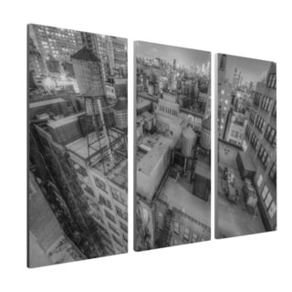 Moises Levy 'Gotham 13-2-inch Gallery Wrapped Canvas Wall Art