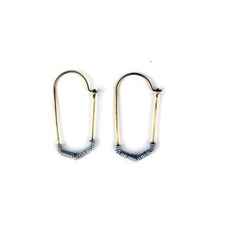 Brass Mombasa Earrings