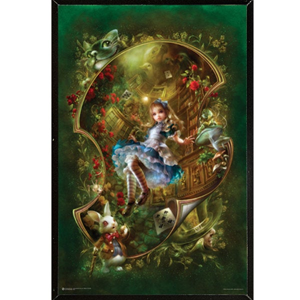 Alice Wall Plaque (24 x 36)