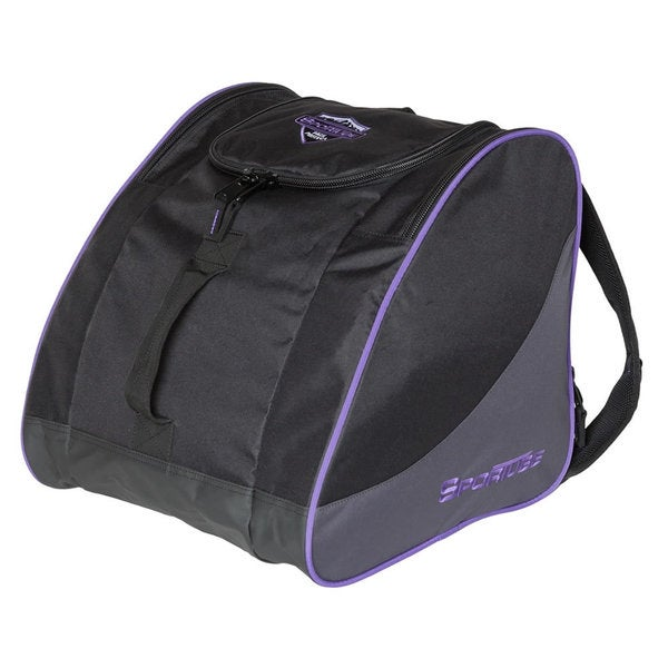 Sportube Purple/ Black Traveler Gear and Boot Bag