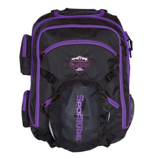 Sportube Black/ Purple Overheader Padded Gear and Boot Carry-on Backpack