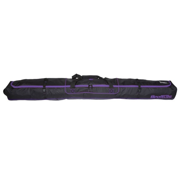 Sportube Purple/ Black Traveler Single Ski Bag