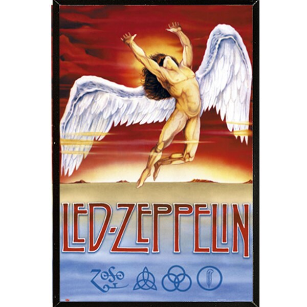 Led Zeppelin - Swan Song Wall Plaque (24 x 36)