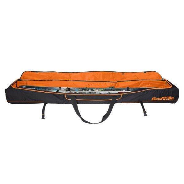 Sportube Orange/ Black Ski Shield Double Ski Bag