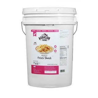 Augason Farms Dehydrated Potato Shreds 6-gallon Pail