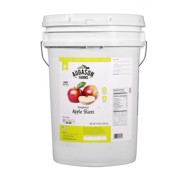 Augason Farms Dehydrated Apple Slices 6-gallon Pail