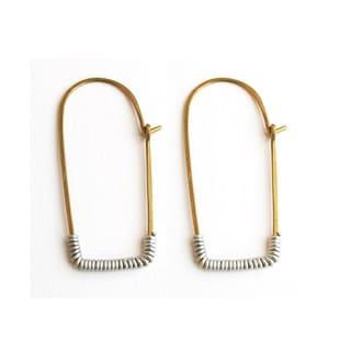 Brass Kitale Earrings
