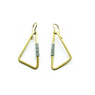 Brass Athi Earrings