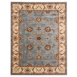 Brillante Oriental Blue Rug (4'11 x 7'8)