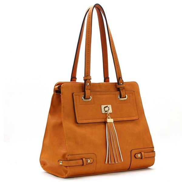 Royal Lizzy Couture Prise Balai Shoulder Tote