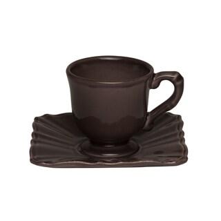 Countryside Moka Espresso Cup / Saucer (Set of 4)