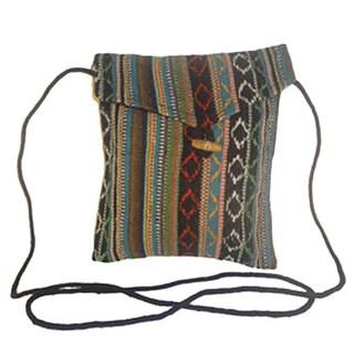 Passport Holder Shoulder Purse/ Portable Cotton Bag (NEPAL)