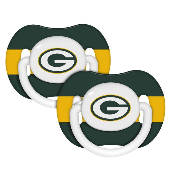 Green Bay Packers Pacifiers (Pack of 2)