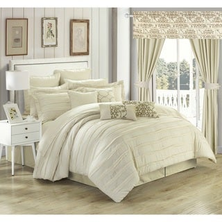 Chic Home Olivier Beige 24-piece Bed in a Bag Set