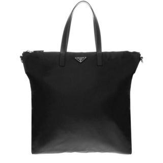Prada Tessuto Nylon Zip Tote Bag