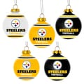 Forever Collectibles Pittsburgh Steelers Shatterproof Ball Ornament Set