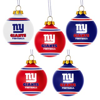 Forever Collectibles New York Giants Shatterproof Ball Ornament Set