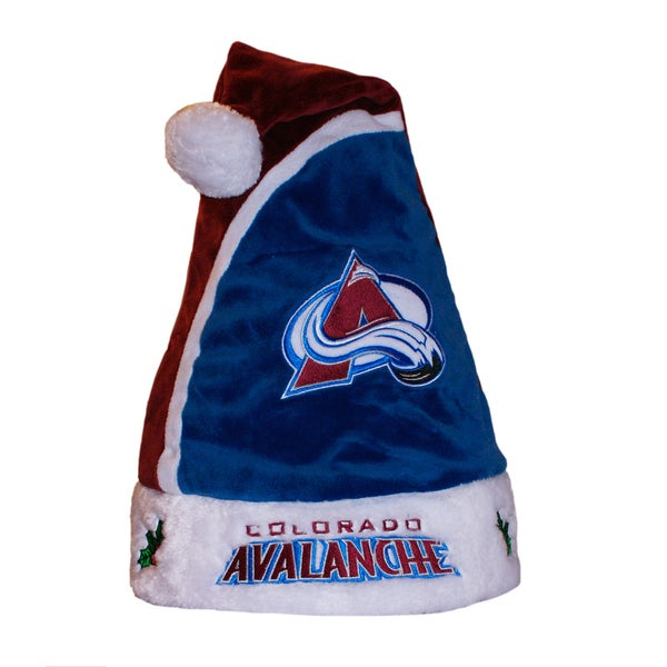 Forever Collectibles Colorado Avalanche 2015 NHL Polyester Santa Hat