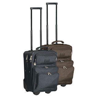 Goodhope 18-inch Carry On Upright Suitcase with 15-inch Laptop Compartment