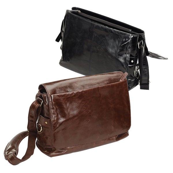 Bellino Leather Business Messenger Bag