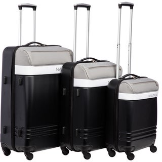 Nautica Rudder 3-piece Hardside Spinner Luggage Set