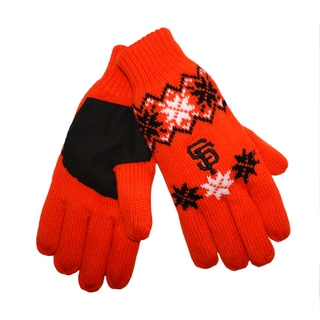 Forever Collectibles San Francisco Giants Lodge Gloves with Padded Palms
