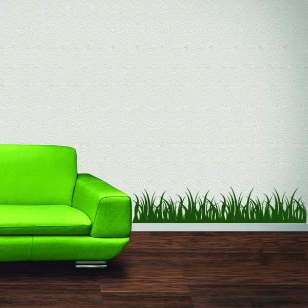 Grass Vinyl Mural Wall Decal