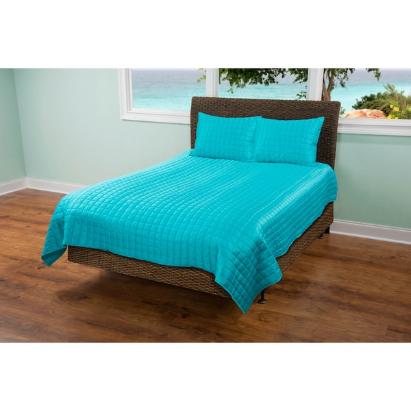 Rizzy Home Satinology Quilt Set